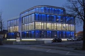 Neues Innovationszentrum der secova Zentrale an der Max-Born-Str. 1