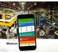 Industrie 4.0 mit ibeacon und sam-EHS-Manager App von secova
