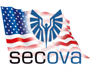 secova USA Logo Flagge