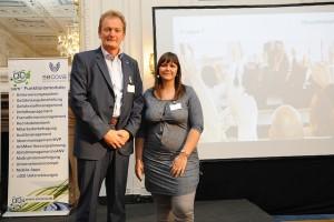 Dirk Stöppler und Tina Barth informierten über das sam*-Ideenmanagement