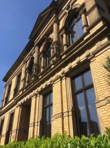 """""""Neues"""" - altes Firmengebäude der secova an der Münsterstr. 53 in Rheine"""
